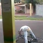 Betrunkener Fahrradfahrer