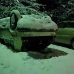 Betrunken parkiert