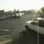 Beim bladen vom Auto überfahren