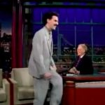 Borat bei David Letterman
