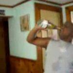 Champagner trinken