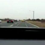 Unfall mit einer Corvette