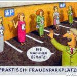 Frauenparkplätze