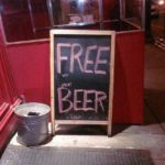 It's Friday – Free Beer