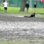 Frisbee fangen