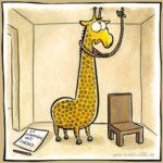 Giraffen haben's auch nicht leicht…