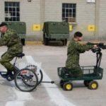 Spass in der Schweizer Armee