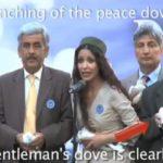 Tote Friedenstaube